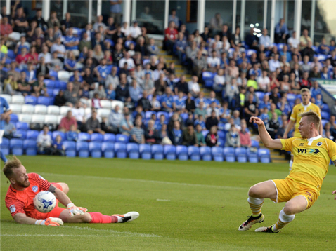Ben Alnwick saves v OBrien of Millwall