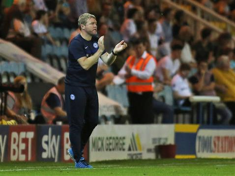 Grant McCann applauds his side v Swansea