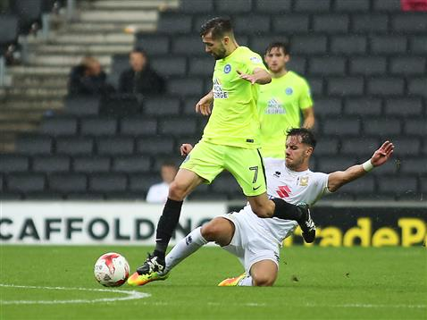 Gwion Edwards v MK Dons 2