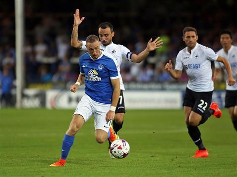 Marcus Maddison v Swansea 2