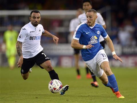 Marcus Maddison v Swansea