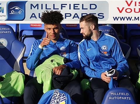 lee-angol-and-gwion-edwards-on-bench-v-chesham