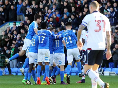posh-players-celebrate-only-goal-of-the-game-v-bolton