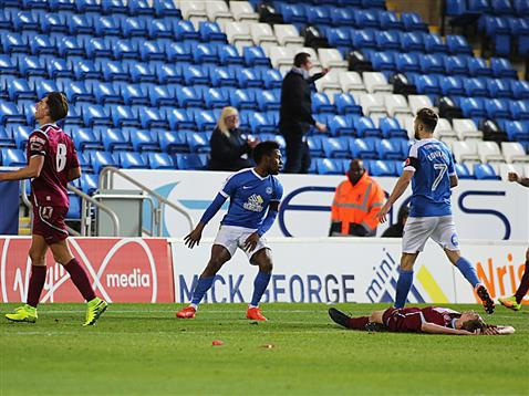 shaq-coulthirst-scores-the-second-posh-goal-v-chesham