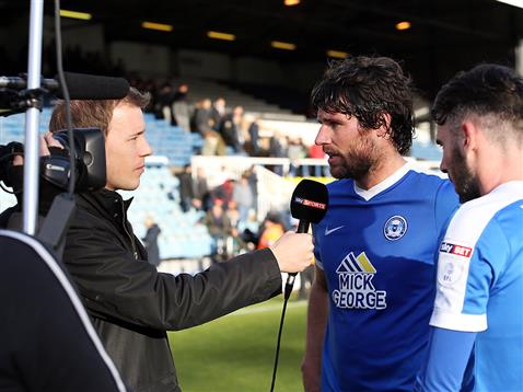 sky-sports-man-of-the-match-michael-bostwick-being-interview-with-goalscorer-michael-smith-v-bolton