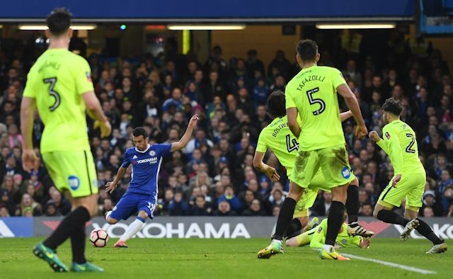 pedro-opens-the-scoring-for-chelsea-watched-by-poshs-andrew-hughes-ryan-tafazolli-michael-bostwick-and-michael-smith