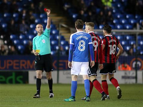 referee-carl-boyeson-sends-off-shrewsbury-striker-stephen-humphrys
